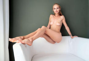 nancy ace, nancy a, jane f, erica, blonde, chair, naked, boobs, tits, nipples, pussy, labia, ultra hi-q