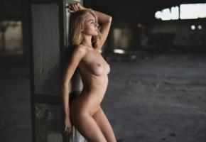 garage, warehouse, naked, tits, anastasia b, erika, jane f, nancy a, nude, tanned, boobs