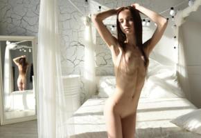 nude, shaved, skinny, small tits, boobs, mirror, bedroom, ultra hi-q, lapa, pala, taressa, best quality