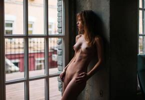 alexandra smelova, boobs, tits, nipples, nude, shaved pussy, skinny, tanned