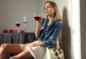 nora pace, cute, blonde, teen, non nude, wine glass, skirt