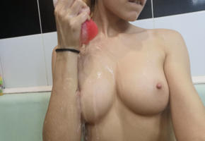 boobs, perfect tits, tits, wet, breasts, nipples, great view, water, naked, closeup, hi-q, big tits