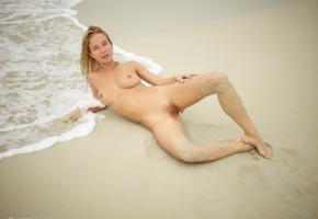 natalie andreeva, natalia a, delilah g, blonde, danica, danica jewels, naked, boobs, tits, nipples, shaved pussy, labia, hi-q, big tits, wet, beach, sand, butt plug, sea