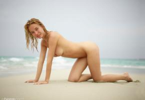 natalie andreeva, natalia a, delilah g, blonde, danica, danica jewels, naked, boobs, tits, nipples, hi-q, big tits, doggy, wet, beach, sand, waves, smile
