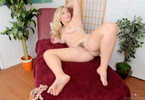 chanele carson, blonde, hairy, nude, boobs, legs, pussy, labia, tits