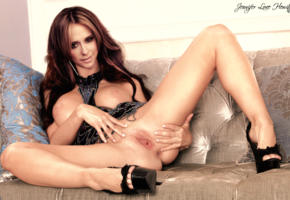 jennifer love hewitt, spread legs, pussy, labia, shaved pussy, big tits, long hair, big naturals, heels, fake, anus, feet, platform heels, smile