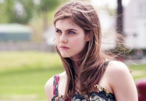 alexandra daddario, beautiful face, close-up, eyes