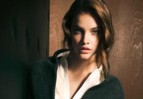 barbara palvin, model, brunette, perfect face, beautiful, nice skin