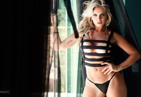 veridiana freitas, brasil, model, posing, panties, black panties, boobs, tits