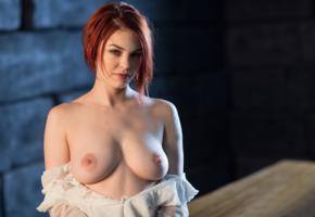 bree daniels, tits, nude, redhead, boobs, nipples
