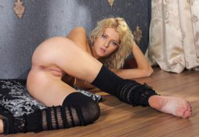 maria k, ass, pussy, nude, sexy, anus, shaved pussy, labia, legs