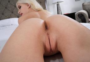 blond, asshole, pussy, close up, kiara cole, ass, anus, shaved pussy, labia, blonde
