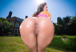 asshole, pussy, outdoors, sunshine, bentover, big ass, ass, anus, labia, meat curtains, mature