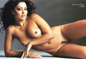 juliana paes, brazil, brazilian, playboy, old, vintage, magazine, low quality, boobs, nipples, pussy, tits, trimmed pussy