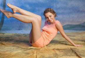 nikia a, nikia, sexy, model, smile, brunette, sweet, beautiful, gorgeous, hi-q, legs, feet
