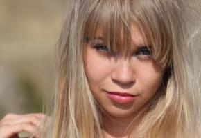 alicia, blonde, face, portrait, lips