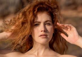 redhead, pretty face, face, portrait, cute, heidi r, vanessa, adel c, heidi romanova