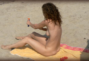 wife, slut, lallaslut, nude, tits, amateur, ass, nudist, beach, nipples, naked, voyeur, legs