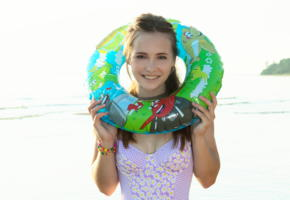 lit, beach, teen, cute, sea, smile, swimsuit