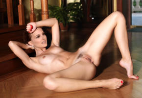 natalie portman, beautiful tits, pussy, trimmed pussy, labia, anus, spread legs, feet, brunette, tan lines, tanned, fake, celebrity fake