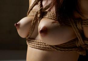 boobs, tits, perfect tits, bondage, nipples, bdsm, big nipples, dark nipples, lulu, asian