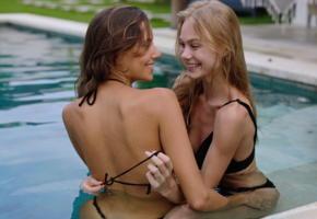 nancy ace, 2 girls, wet, smile, katya clover, mango a, nancy a, tanned, bikini, jane f, erica