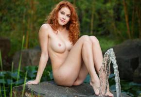 adel c, nude, sexy, 4k, boobs, big tits, nipples, redhead, smile, heidi romanova, vanessa, heidi r