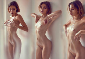 alice riley, model, nude, nipples, petite, labia, fashion, sexy, collage, hot
