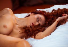 veronika, veronika glam, nude, sexy, redhead, tanned, boobs, tits, nipples, bed, keisha, rebecca, yulia a