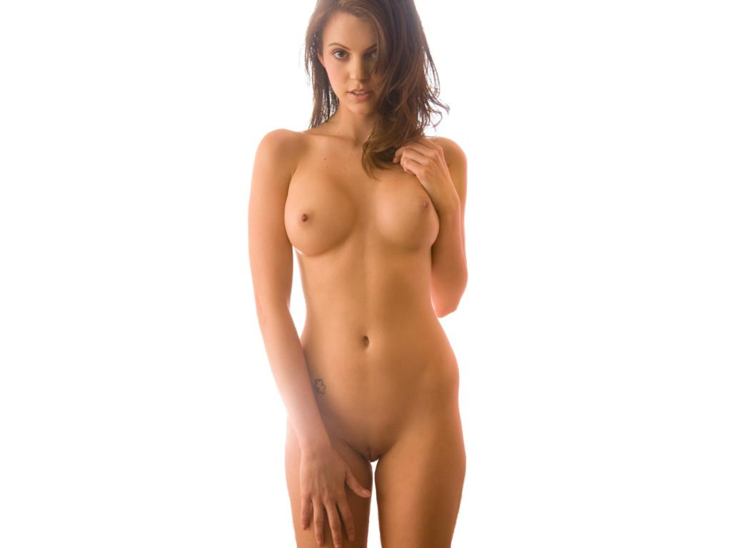 Alaina fox demonstrates her unshaved pussy 9