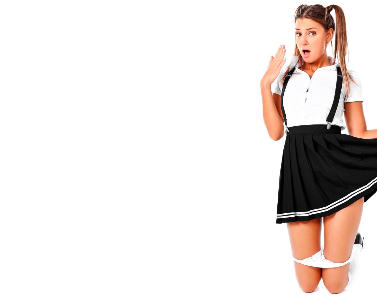 Wallpaper white, ass, black, maria, cute, ryabushkina