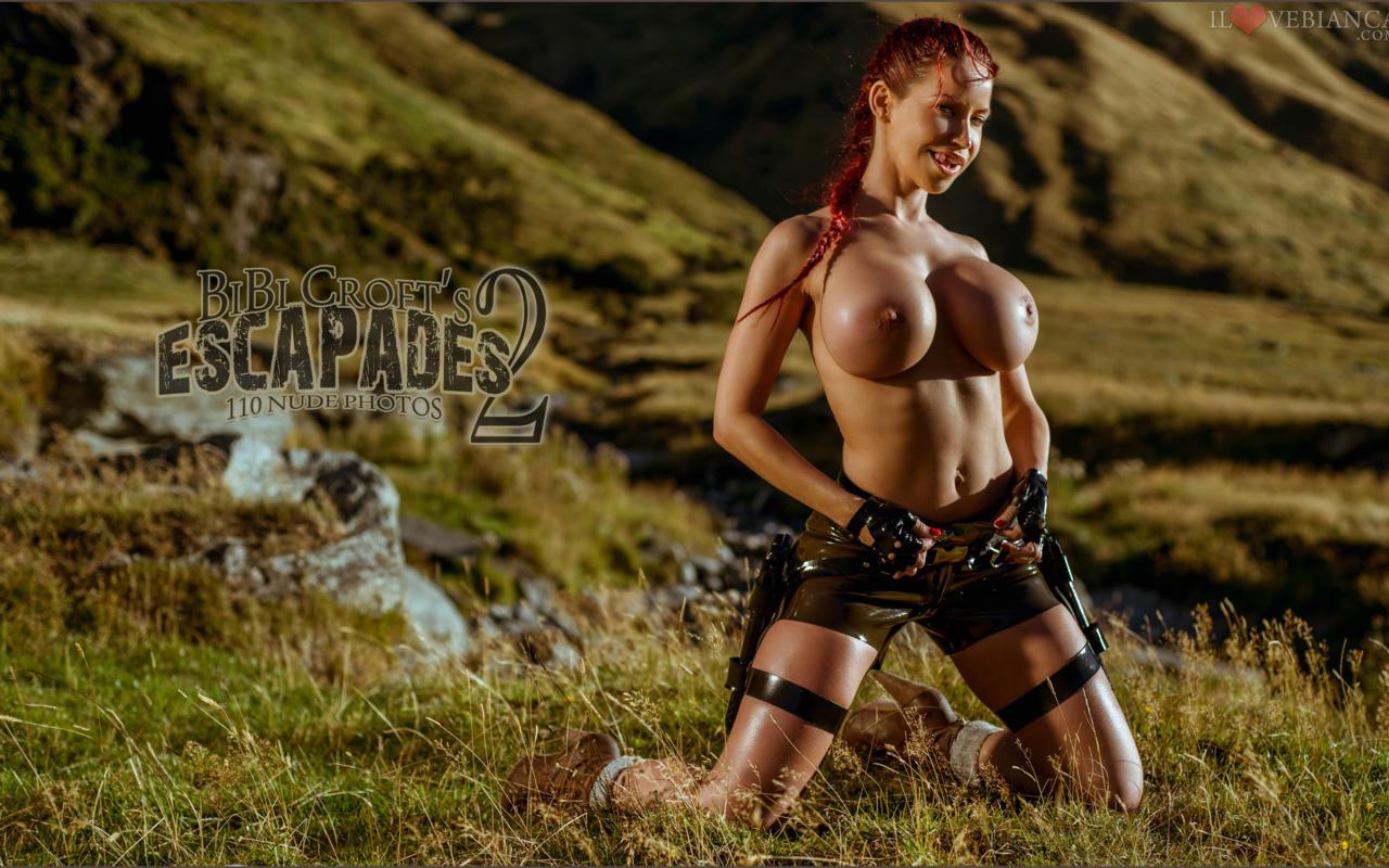 Sexy hot big boobed lara croft nude adult video