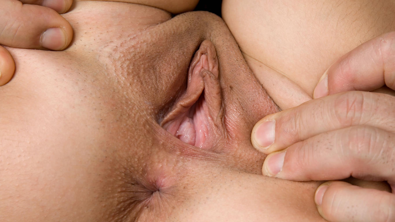 pussy, labia, clit, close-up, sandy sweet, she loves it
