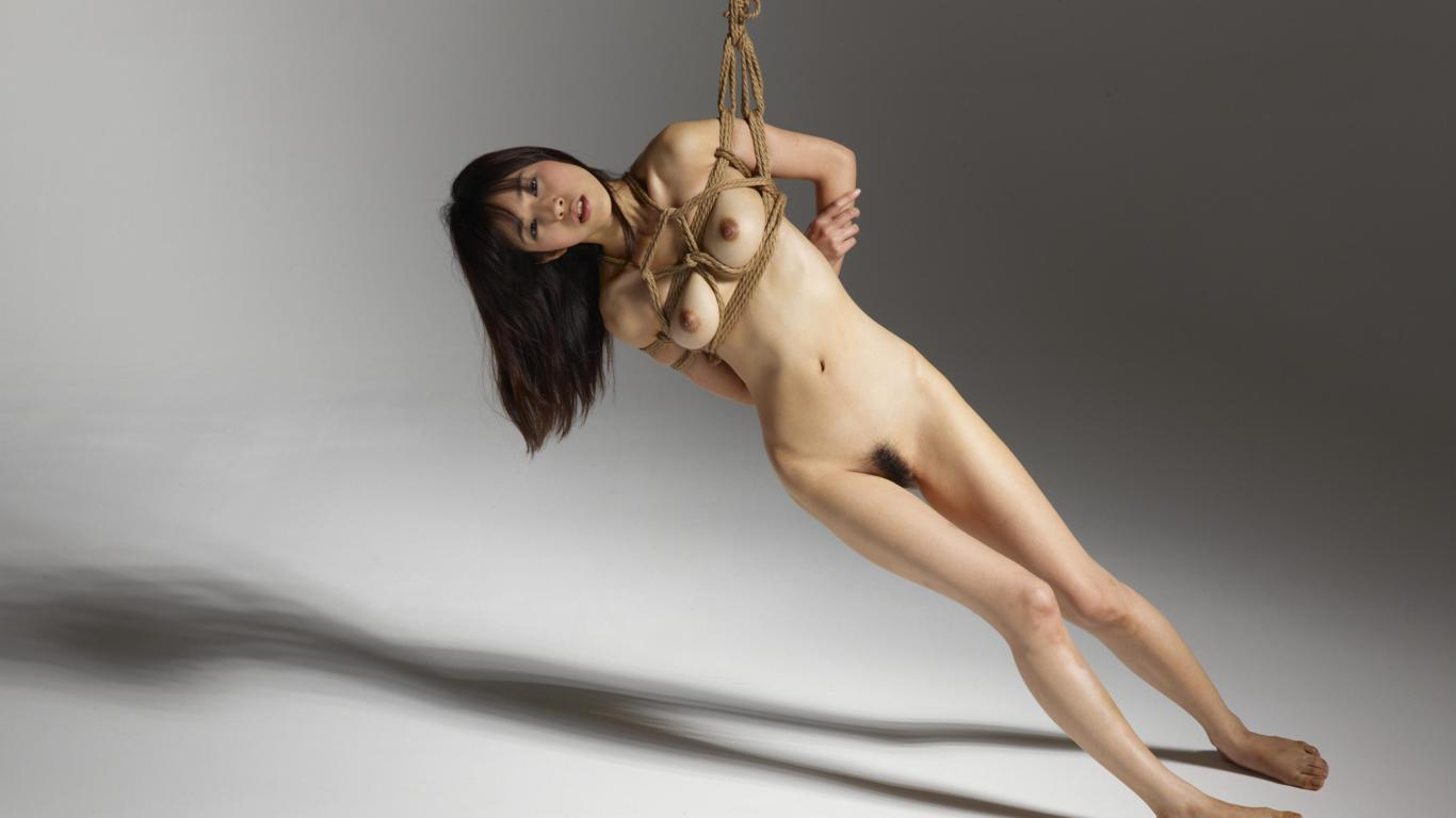 Download photo 1366x768, lulu, asian girl, nude, pussy ...