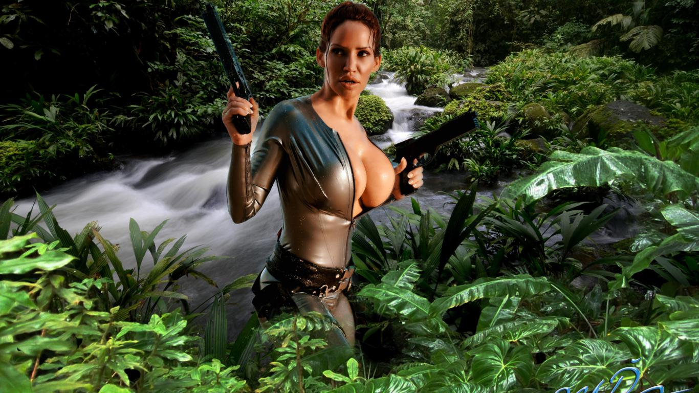 Free Sexy Babe Lara Croft 10