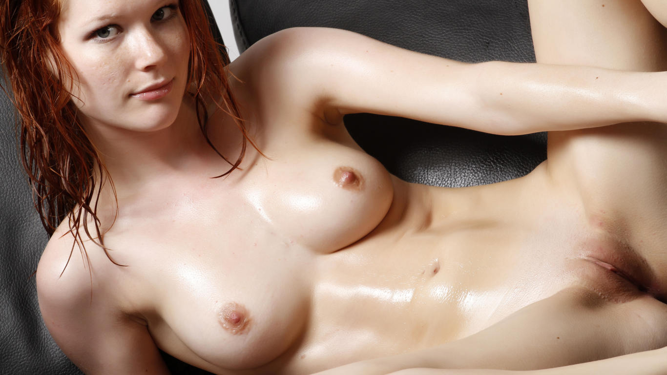 mia sollis, lynette, margy, redhead, naked, tits, shaved pussy, labia ...