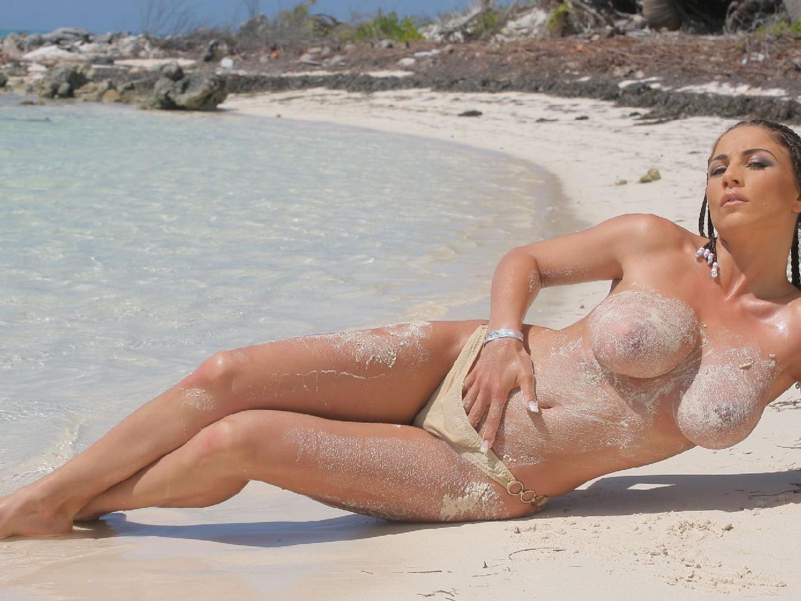 nude jolene blalock beach