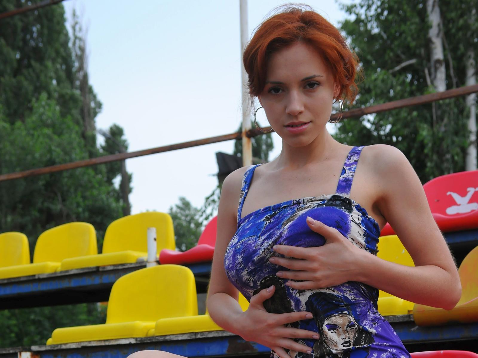 Download photo 1440x900, leka c, lera o, redhead, non nude