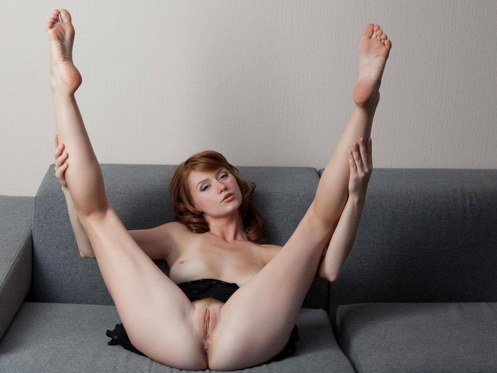 Girl foot fetish