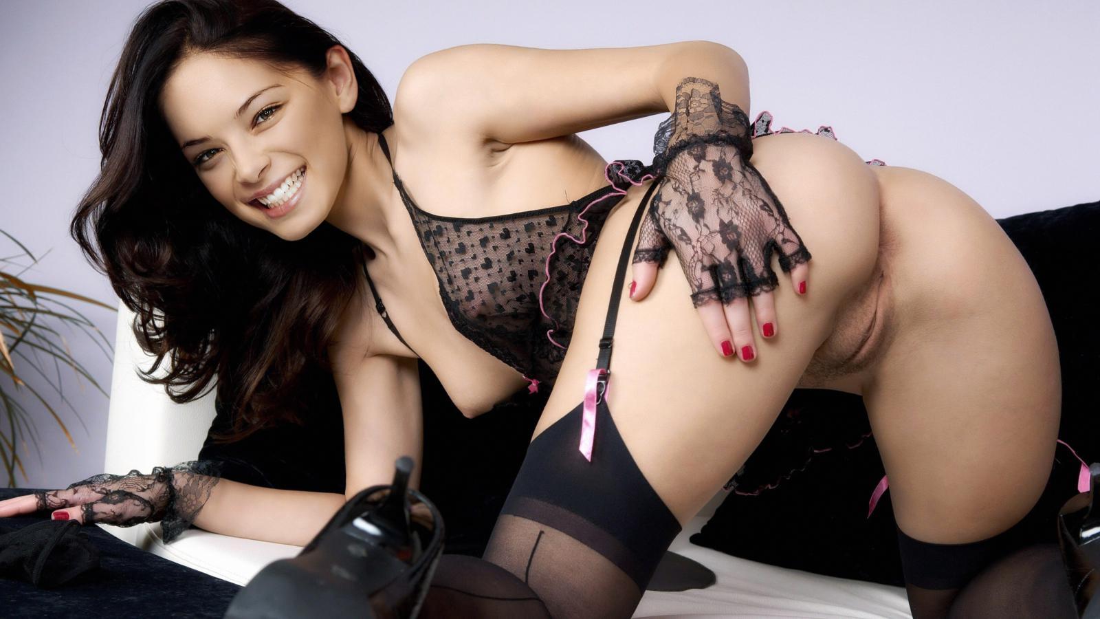 Kristin kreuk lingerie cover