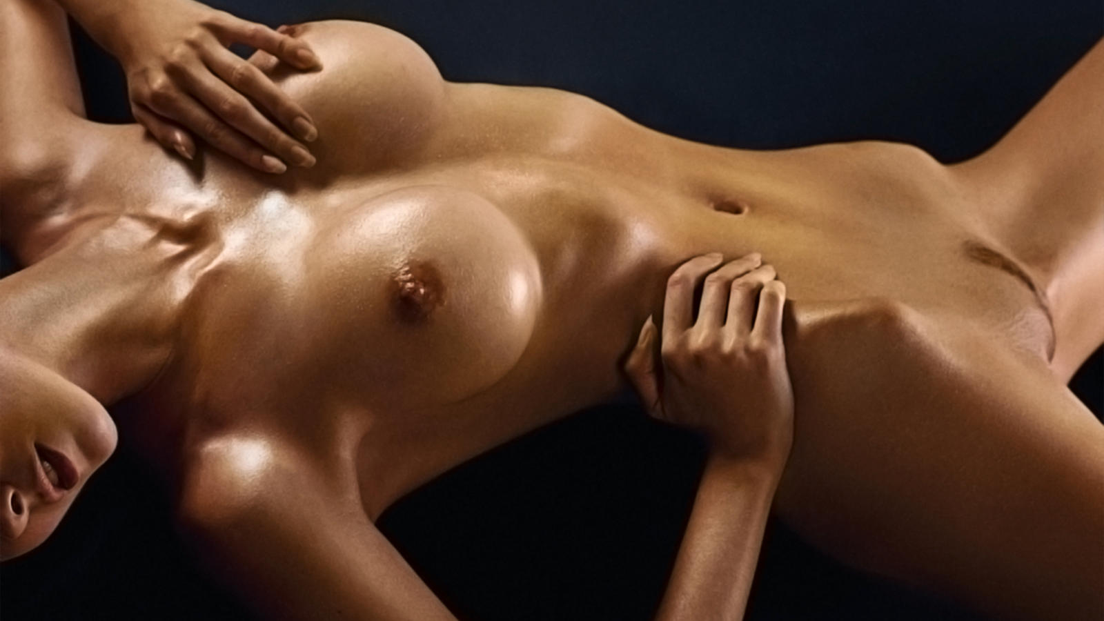 Download Photo 1600X900, Wallpaper, Nude, Perfect Body -7632