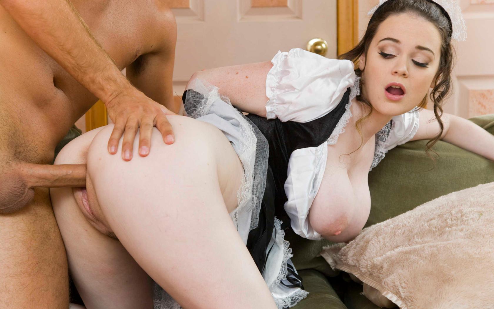 Горячая Служанка Порно