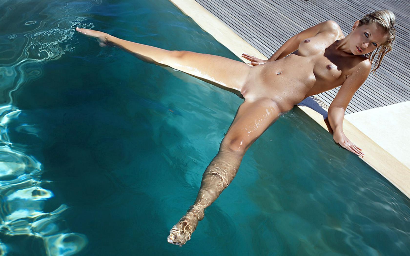 Thought Nude jenni gregg pool
