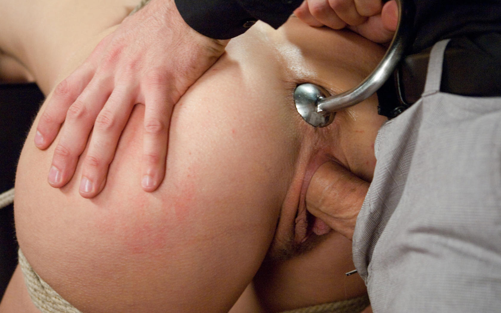 Anal plug bondage but she doesn039t get too 2
