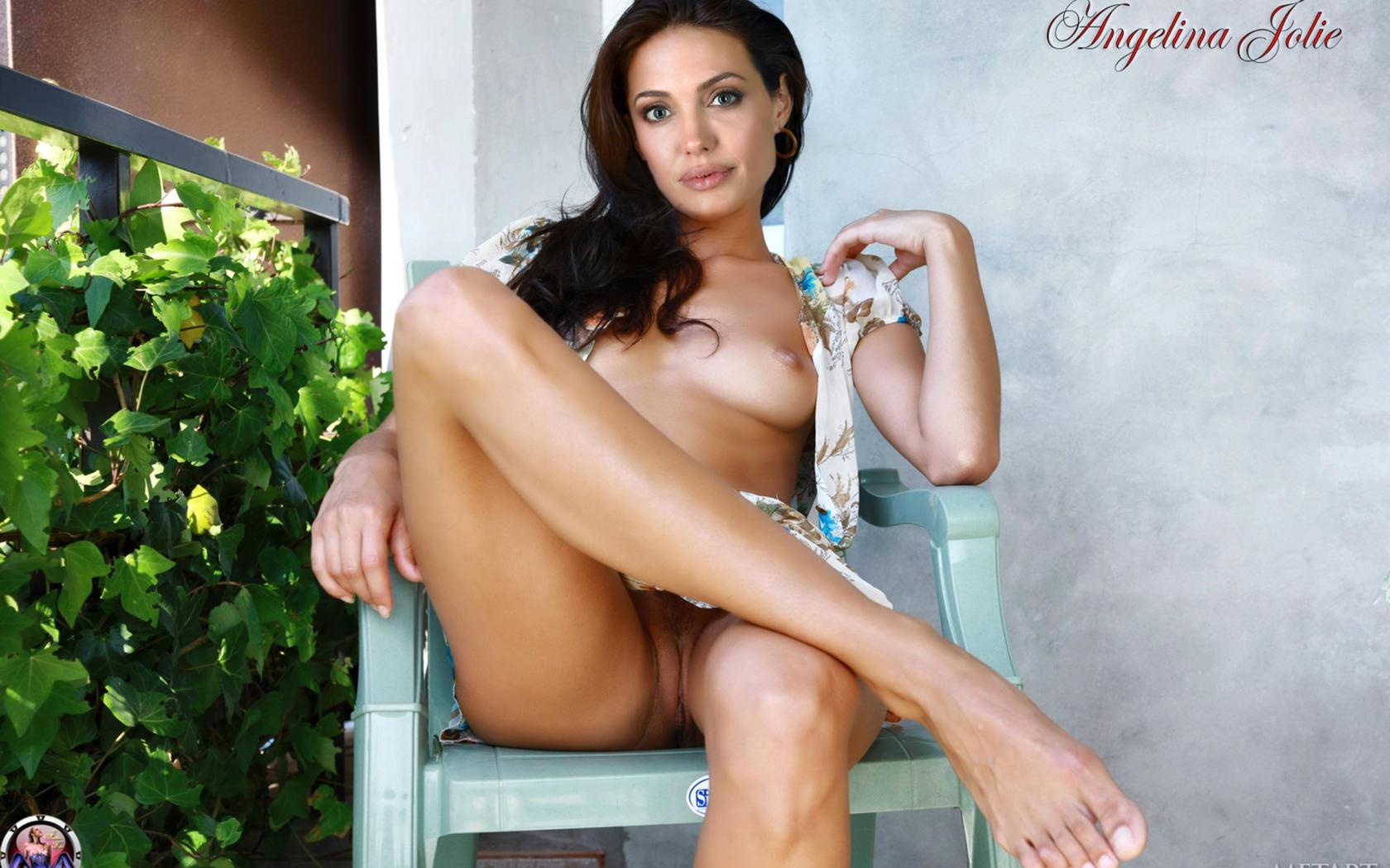 Download Photo 1680X1050, Angelina Jolie, Pussy, Feet -7291