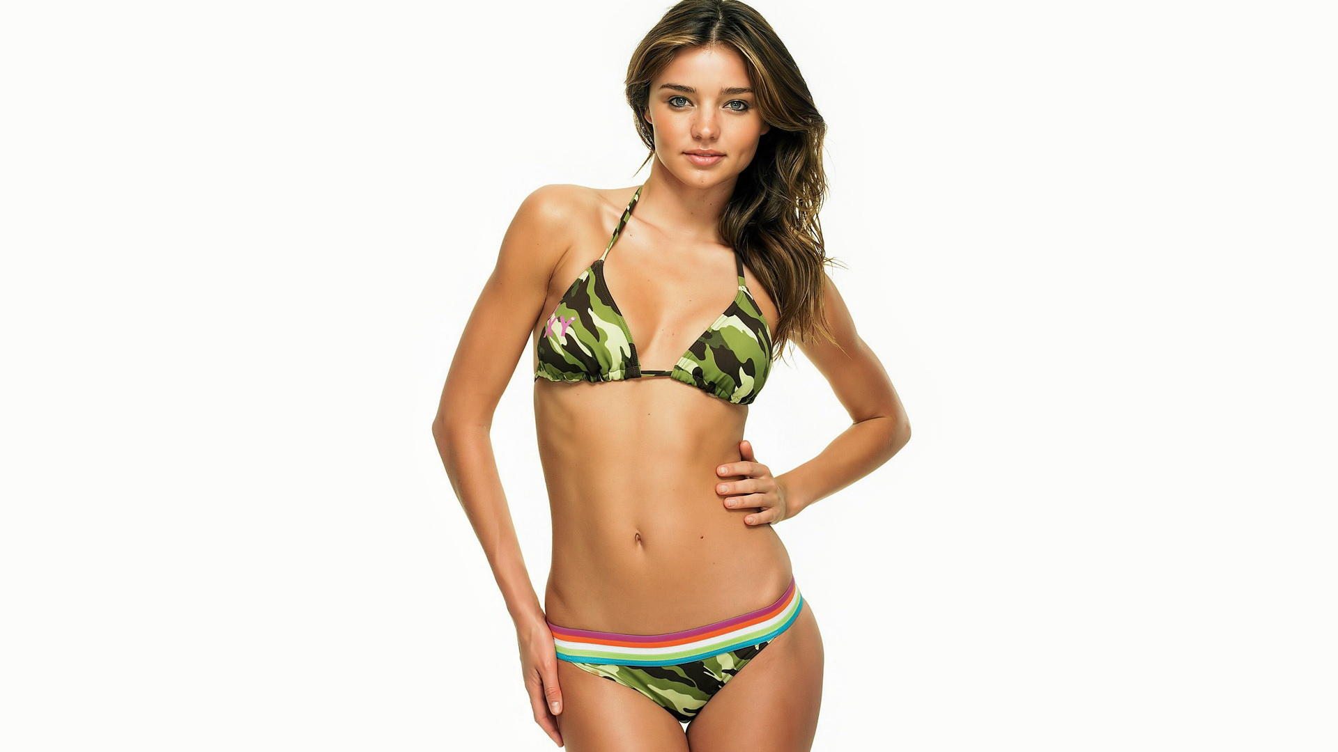 miranda kerr, model, lingerie, smile, widescreen cut Miranda Kerr