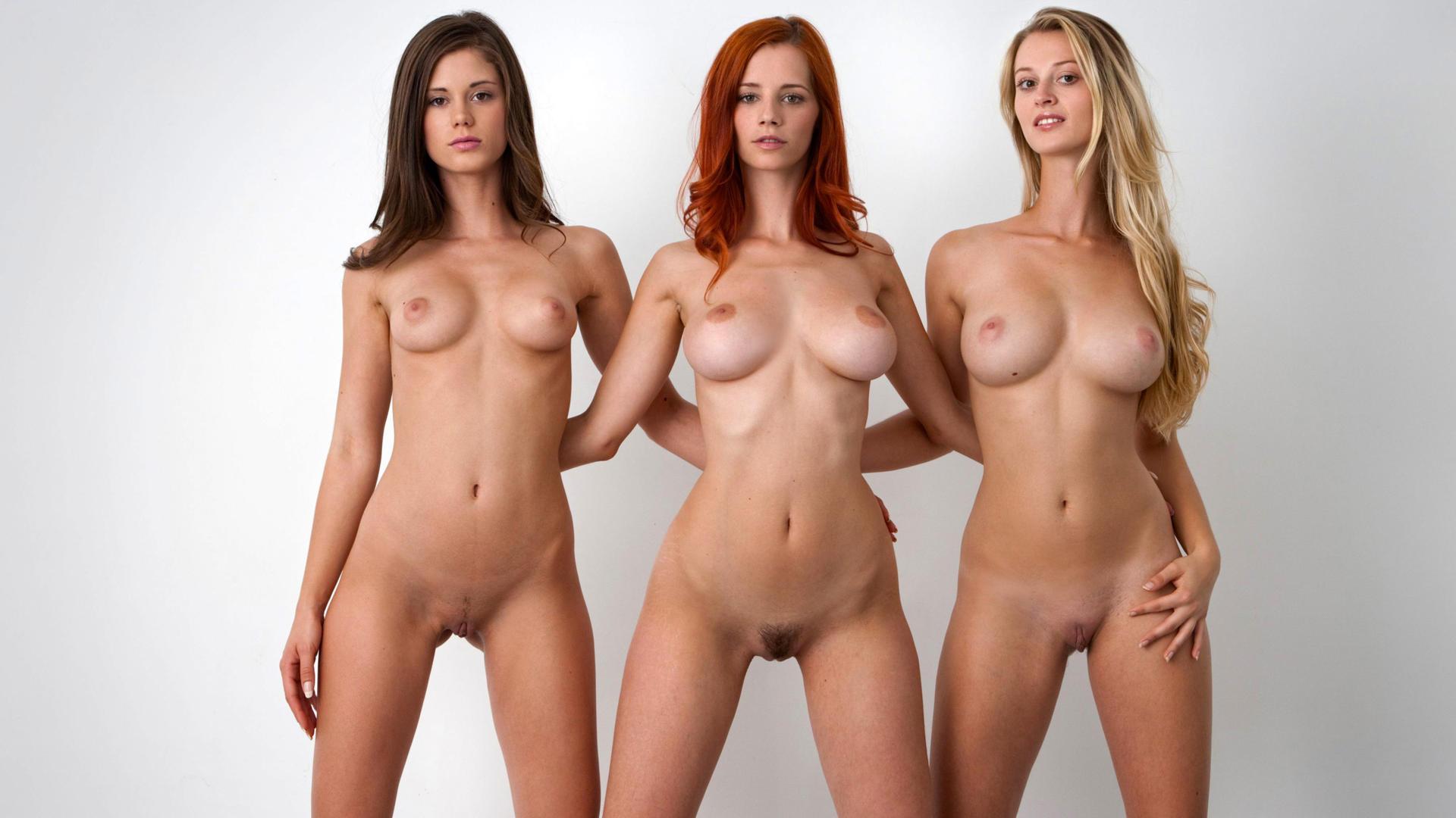 download photo 1920x1080, carisha, nude, sexy, three, boobs, caprice