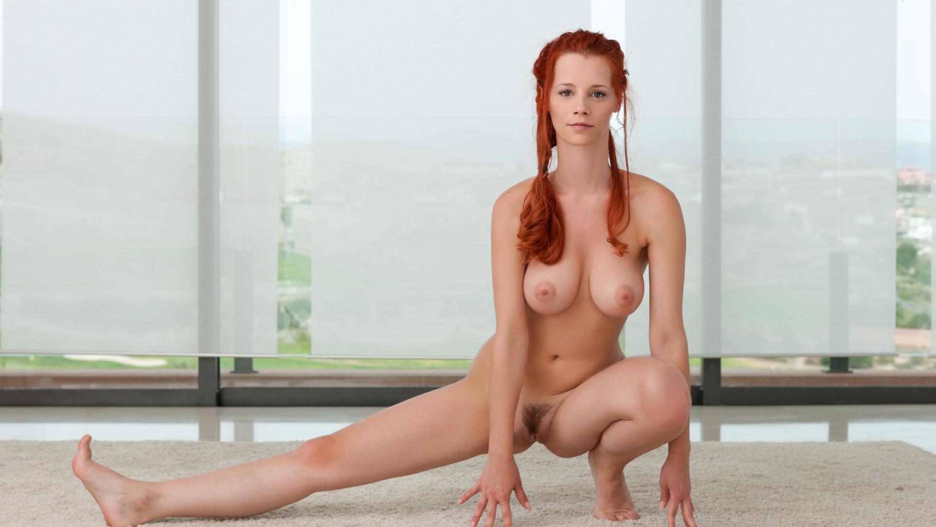Yoga boobs