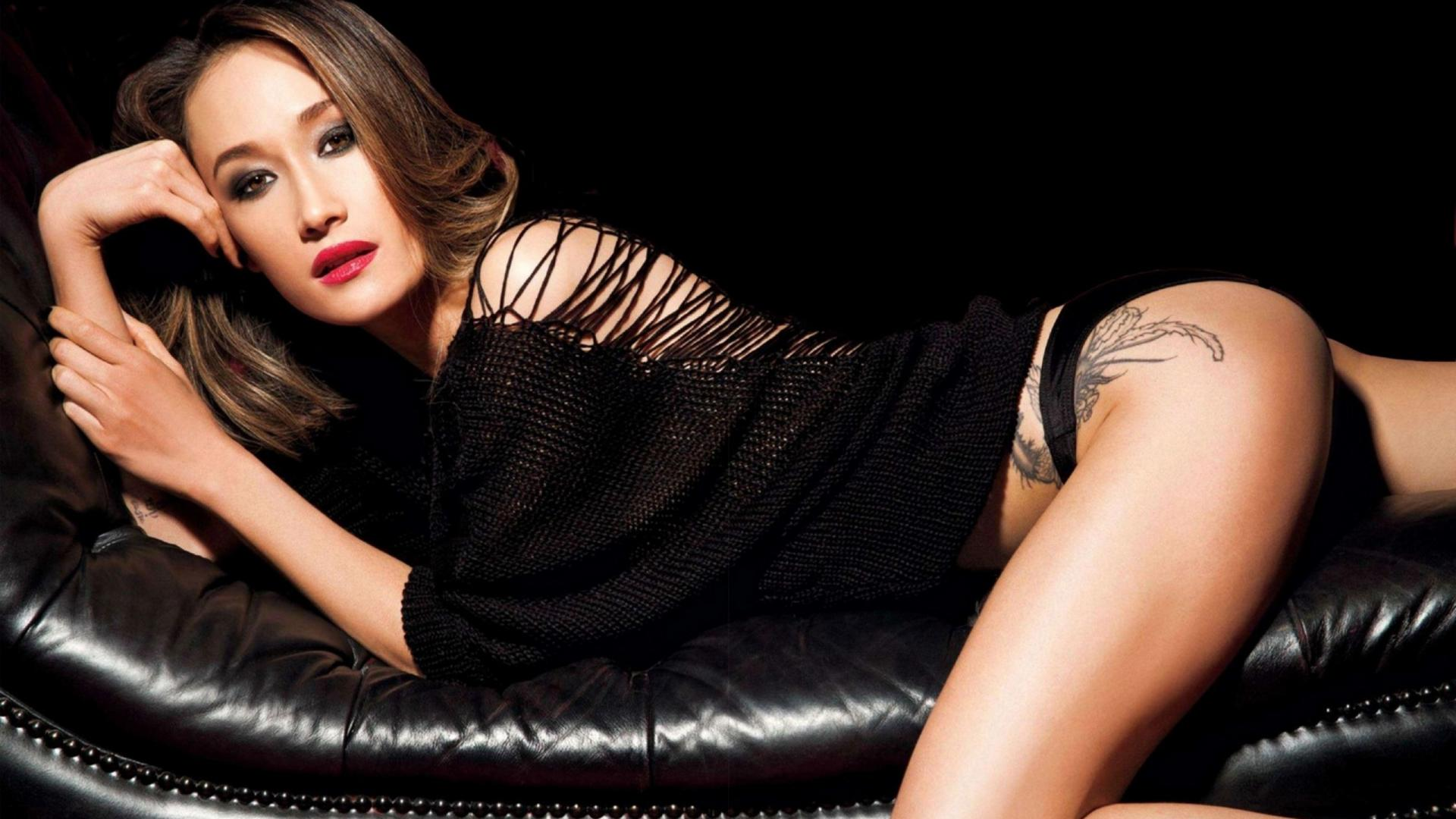 download photo 1920x1080 maggie q asian girl sexy