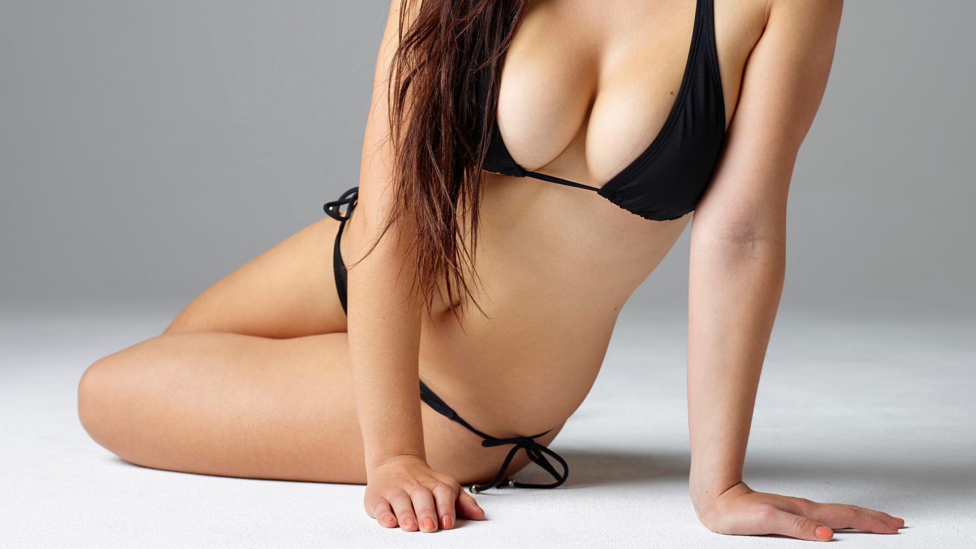 download photo 1920x1080 yara girl lingerie breasts